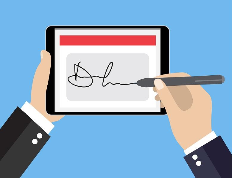 assinatura digital nos contratos